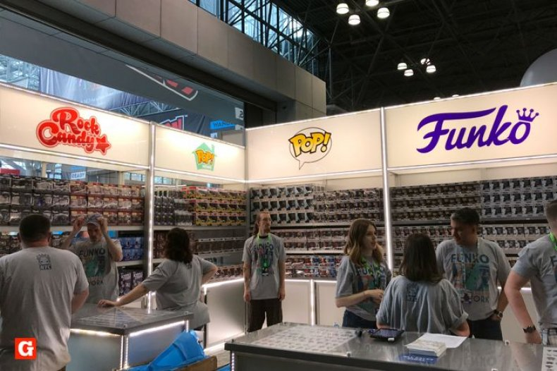 Funko Booth NYCC 2018 Employees