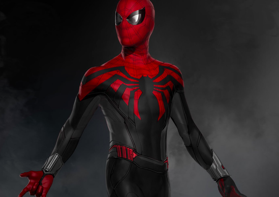 Black And Red >> Black And Red Spider Man Suit Debuts On Far From Home Set Usposts