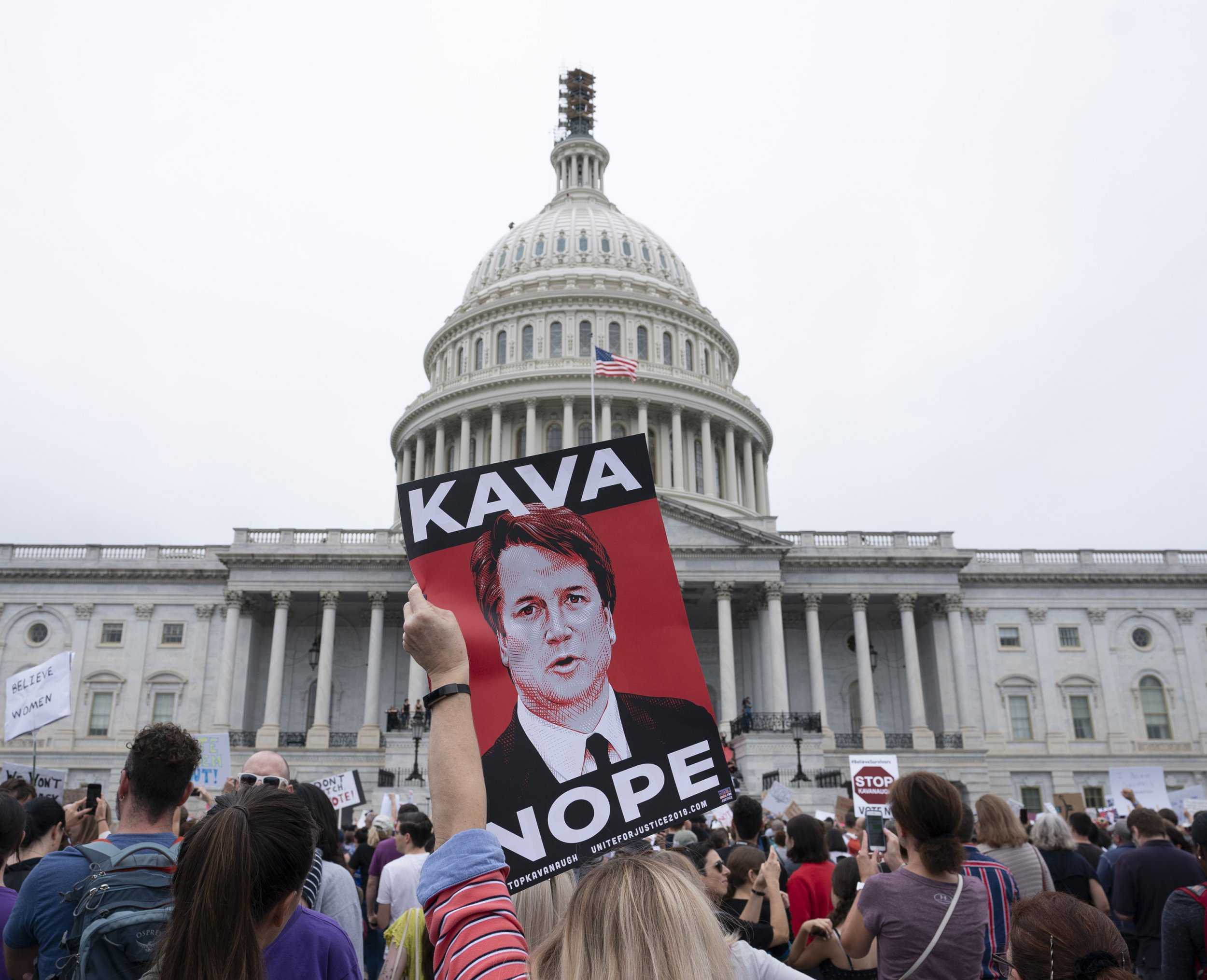 Poll: Majority of Americans Support Congressional Investigation of Kavanagh