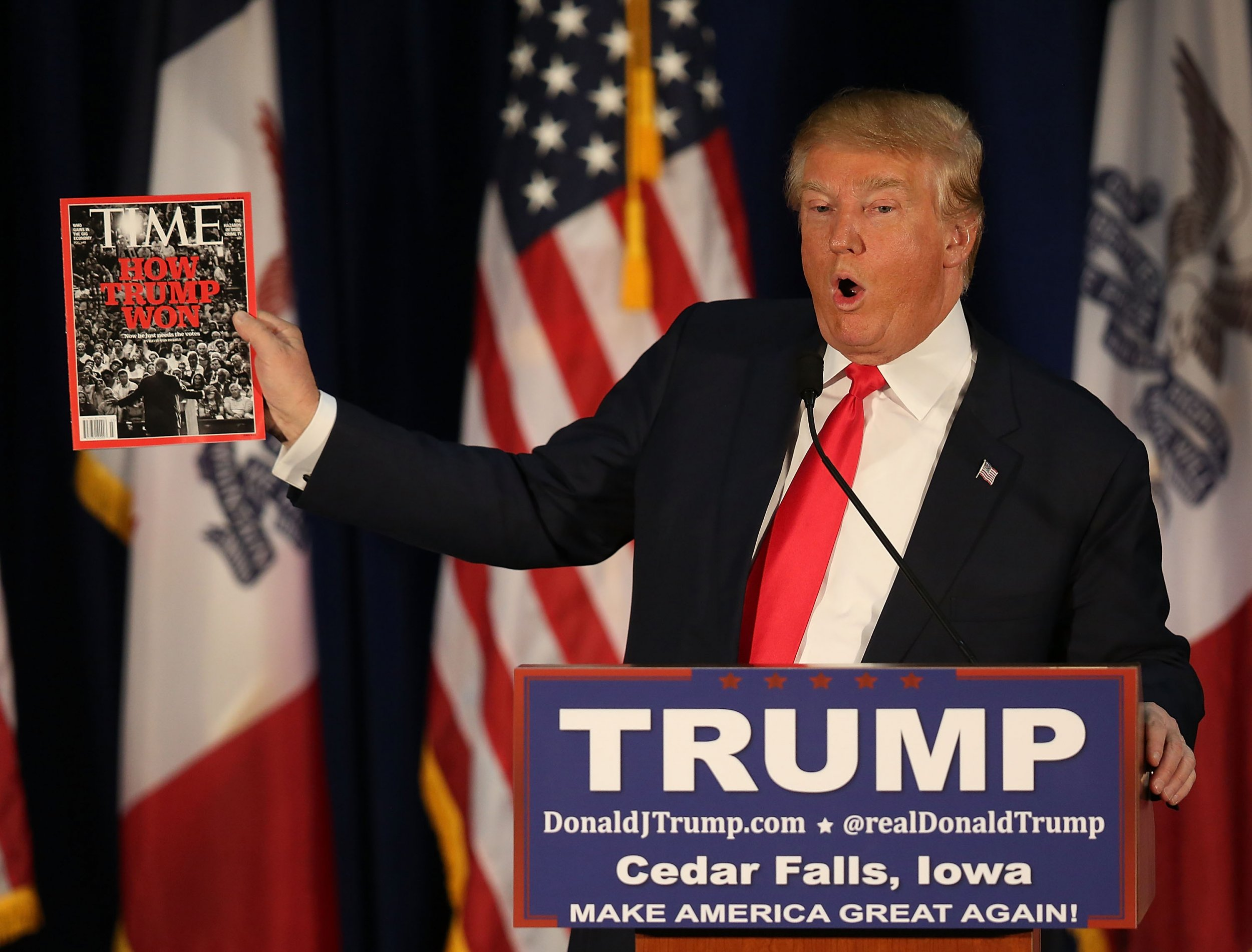 Donald Trump Tries to Get on the Front Pages of His Favorite Newspapers Every Day: Report