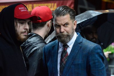 Violent Far-Right, Pro-Trump Group Hits New York Streets–But Fox News Sees Them as Victims