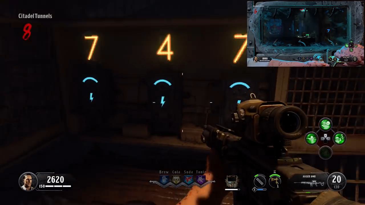 Black Ops 4 Spoon input numbers