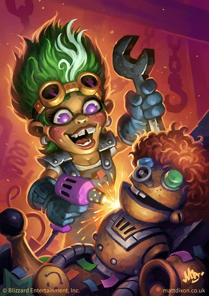 hearthstone balance update giggling inventor