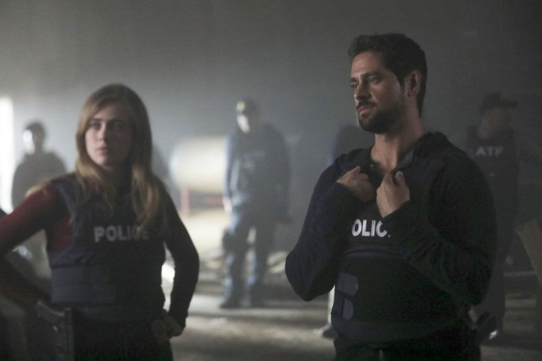manifest season 1 episode 4 recap spoilers unclaimed baggage Michaela and Jared blow atf cop cover