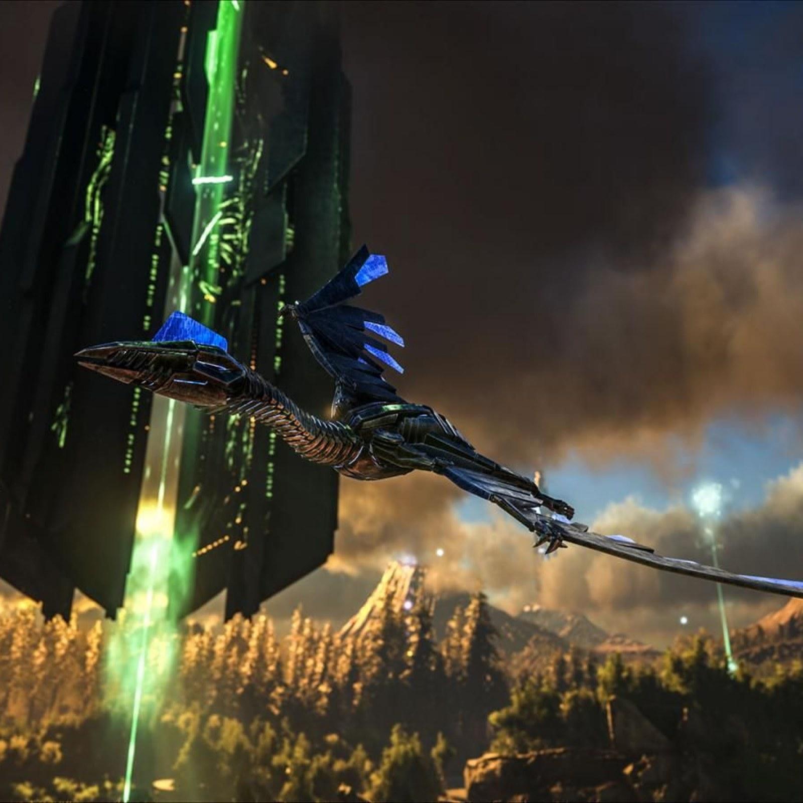 ARK' Update 1 77 Adds Extinction Chronicles V & Tek Quetzal