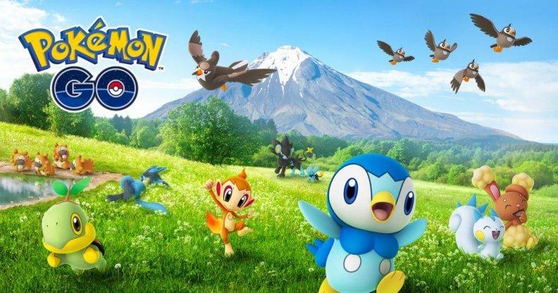 pokemon go gen 4 official promo art