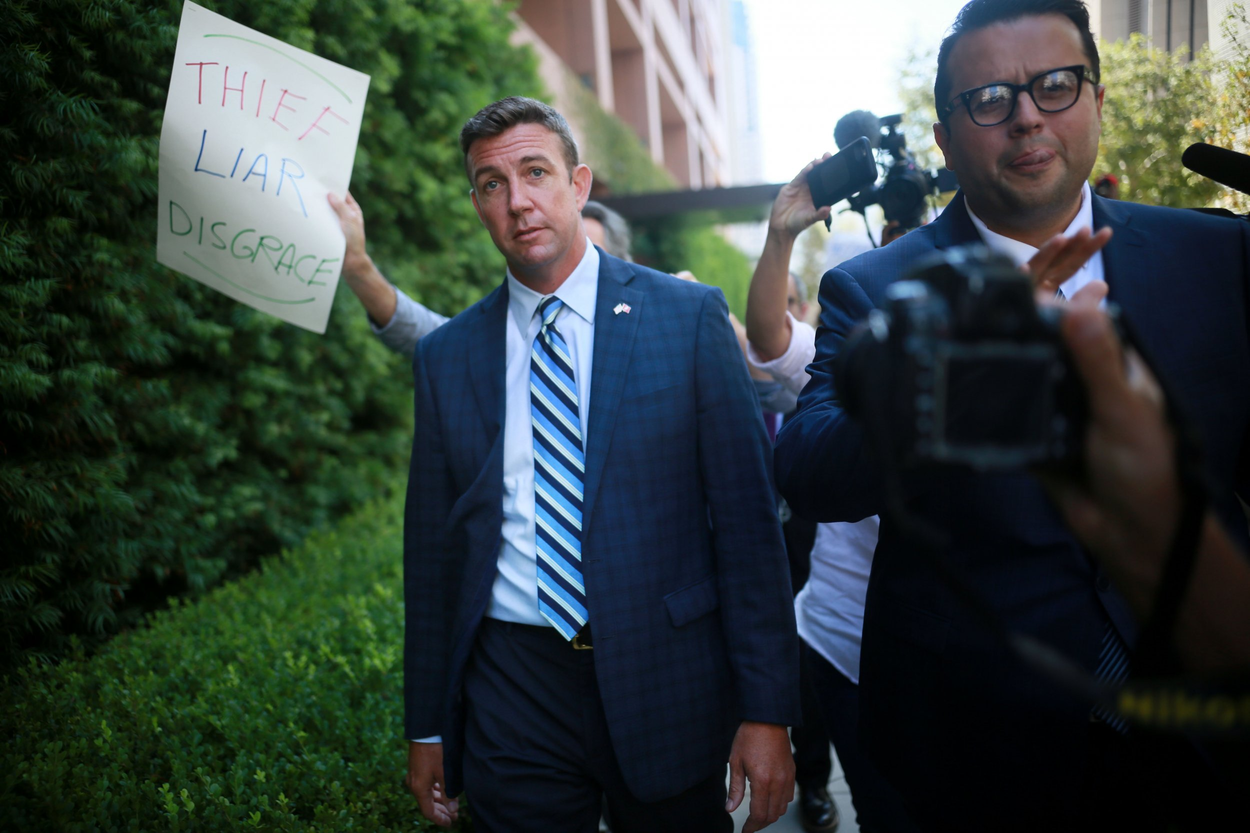 Indicted Congressman Duncan Hunter Continues False Anti-Muslim Attack Ads Against Democratic Opponent