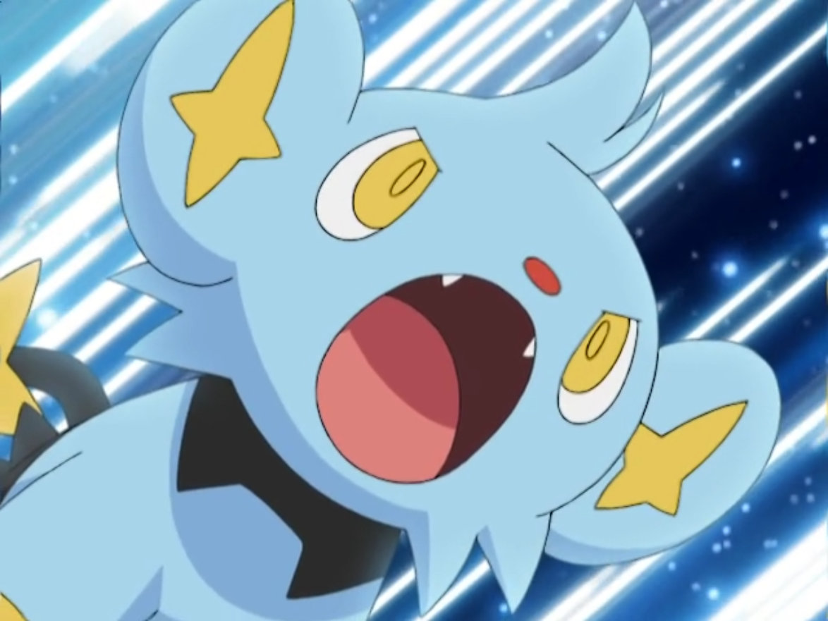 shinx pokemon anime