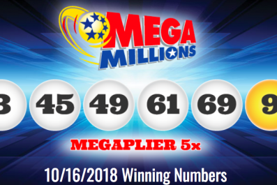 Mega Millions Results for 10/16/18