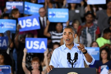 Barack Obama's Message to Young Americans: No Excuses, Get Out and Vote