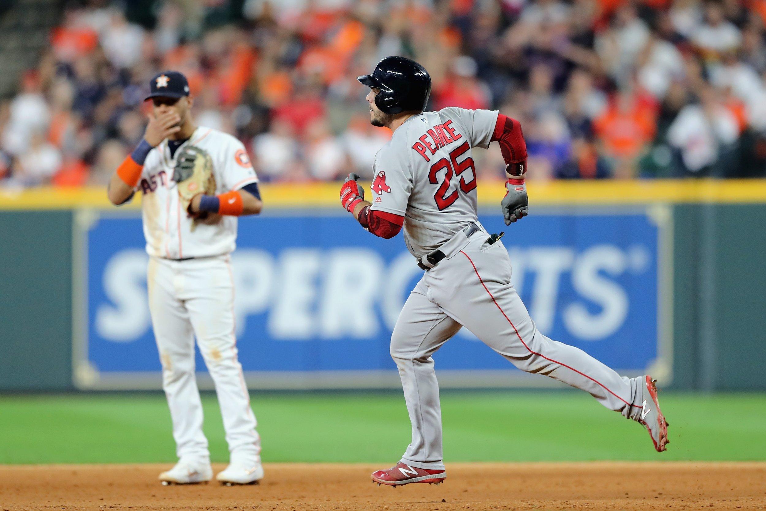 Boston Red Sox Houston Astros Steve Pearce
