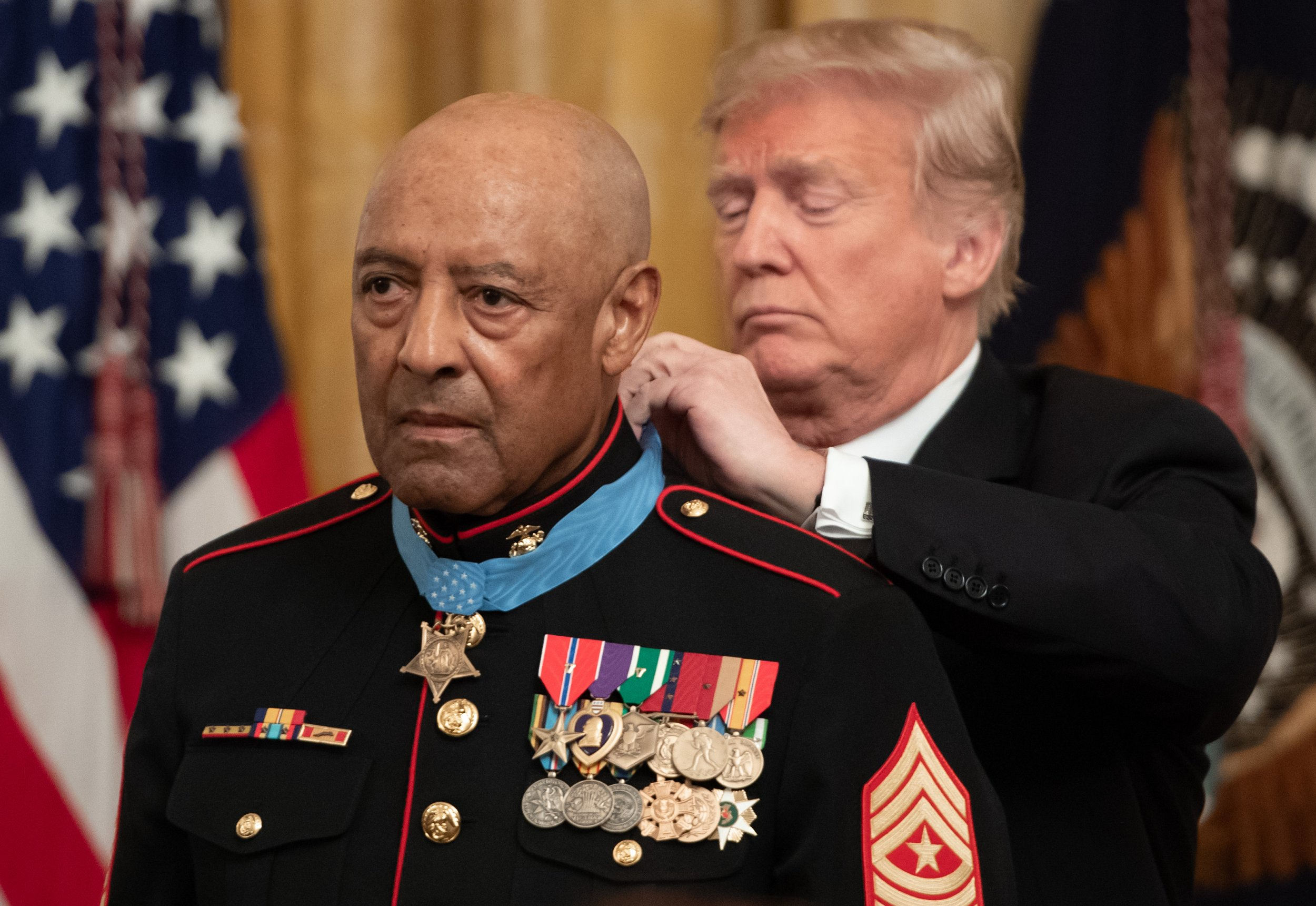 Medal of honor, John L. Canley, Donald Trump