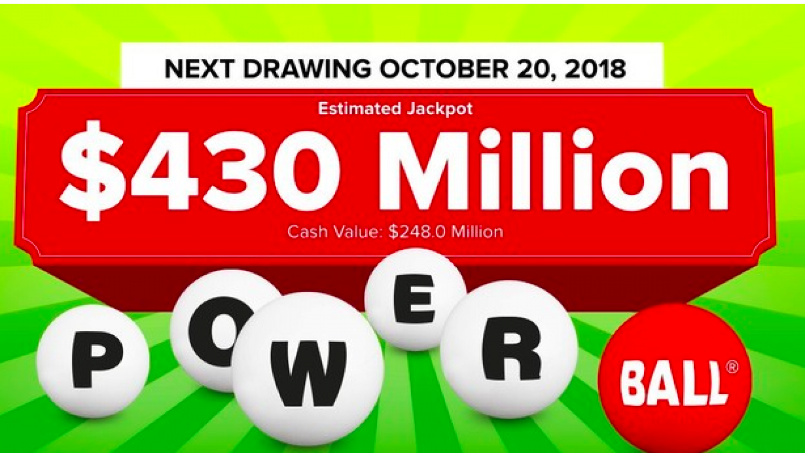 Powerball Jackpot Results Numbers Payout For Wednesday 10 17 18