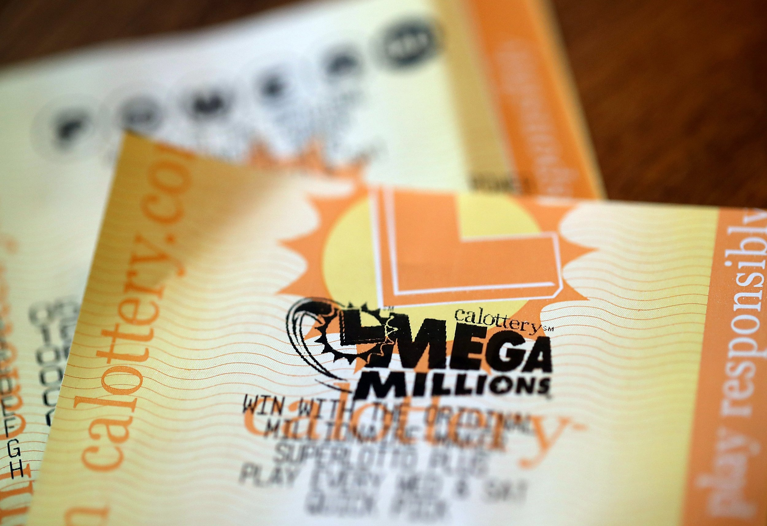 mega millions ticket old