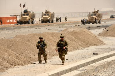 Kandahar Attack: Shooting at Governor's Office