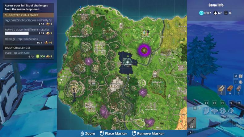 Fortnite Secret banner 4 map