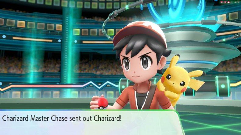 pokemon lets go pikachu charizard master