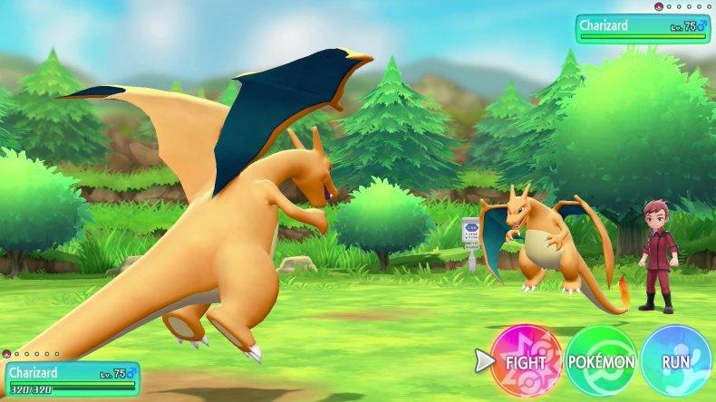 pokemon lets go charizard vs charizard