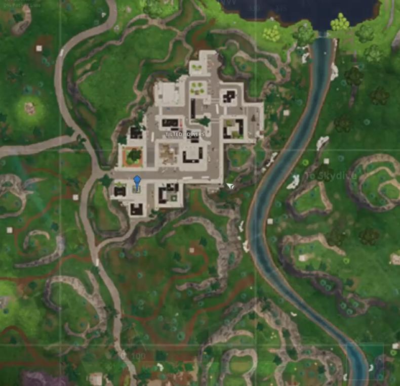 Fortnite clock tower map
