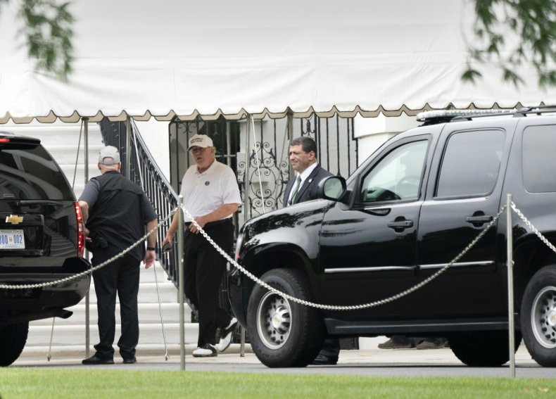 donald trump golf, visit troops overseas