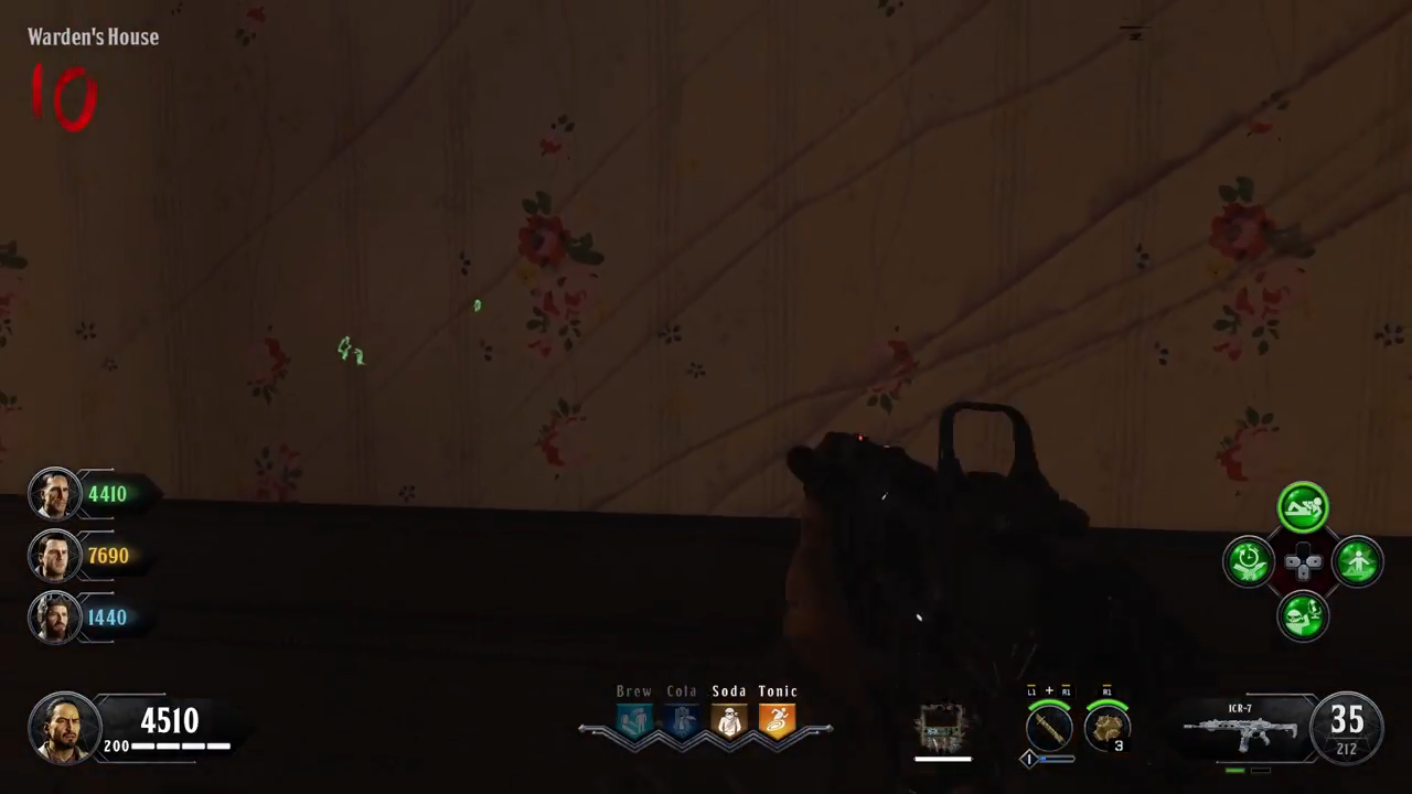Black Ops 4 Blood of the Dead Easter Egg 1 Blank wall
