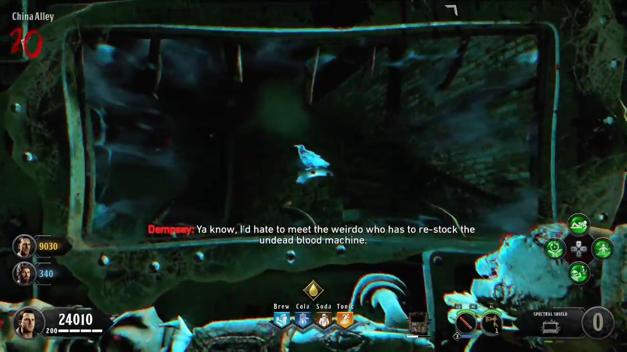 Black Ops 4 Blood of the Dead Easter Egg 6 bird again