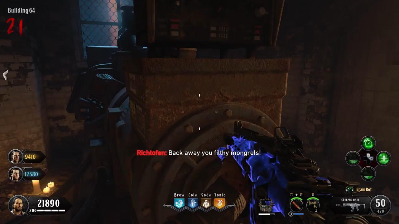Black Ops 4 Blood of the Dead Easter Egg 10 generator