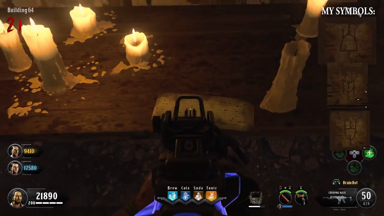 Black Ops 4 Blood of the Dead Easter Egg 13 punch card