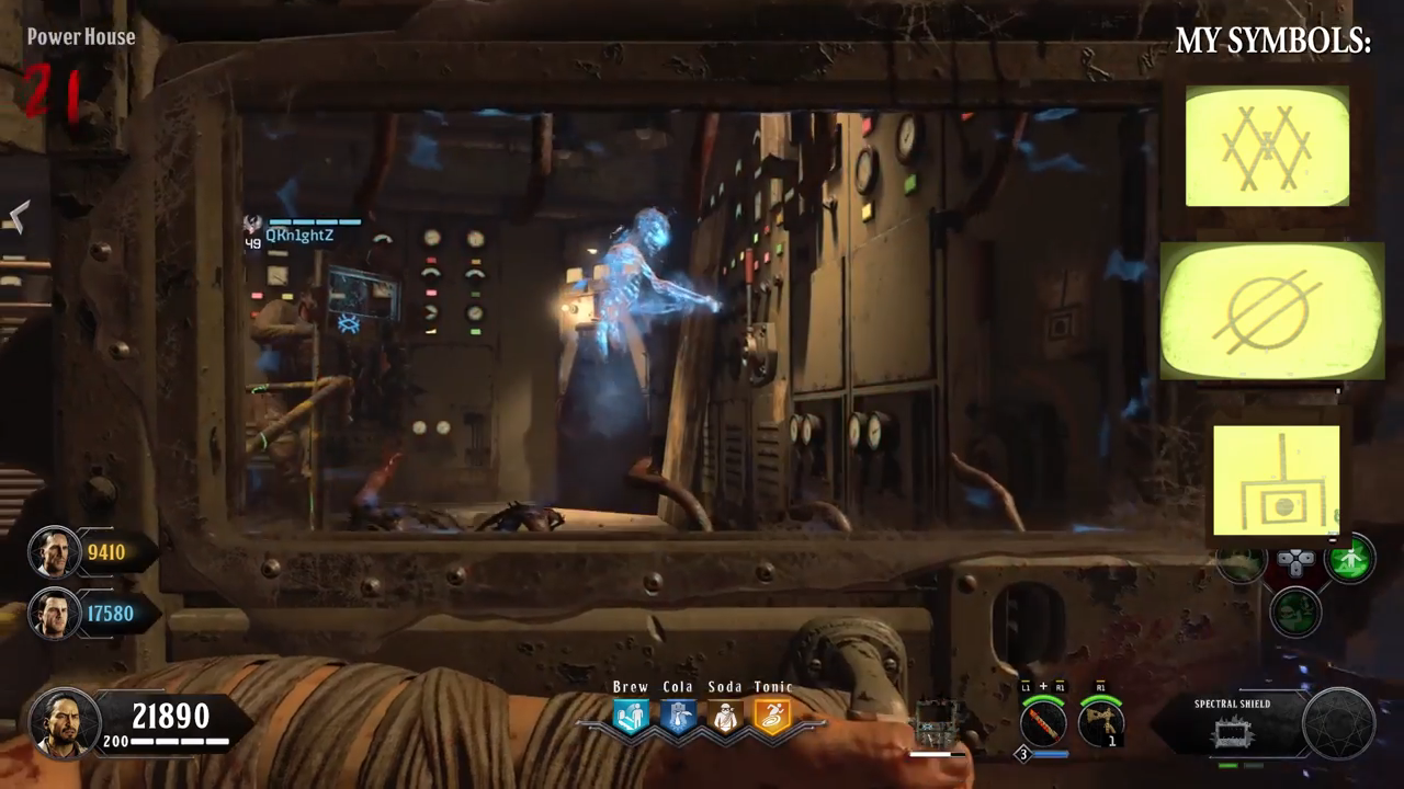 Black Ops 4 Blood of the Dead Easter Egg 17 zombie