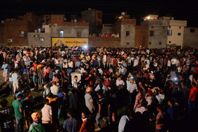 Amritsar Train Accident India