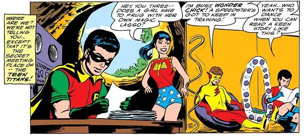 Batman dating donna Wonder