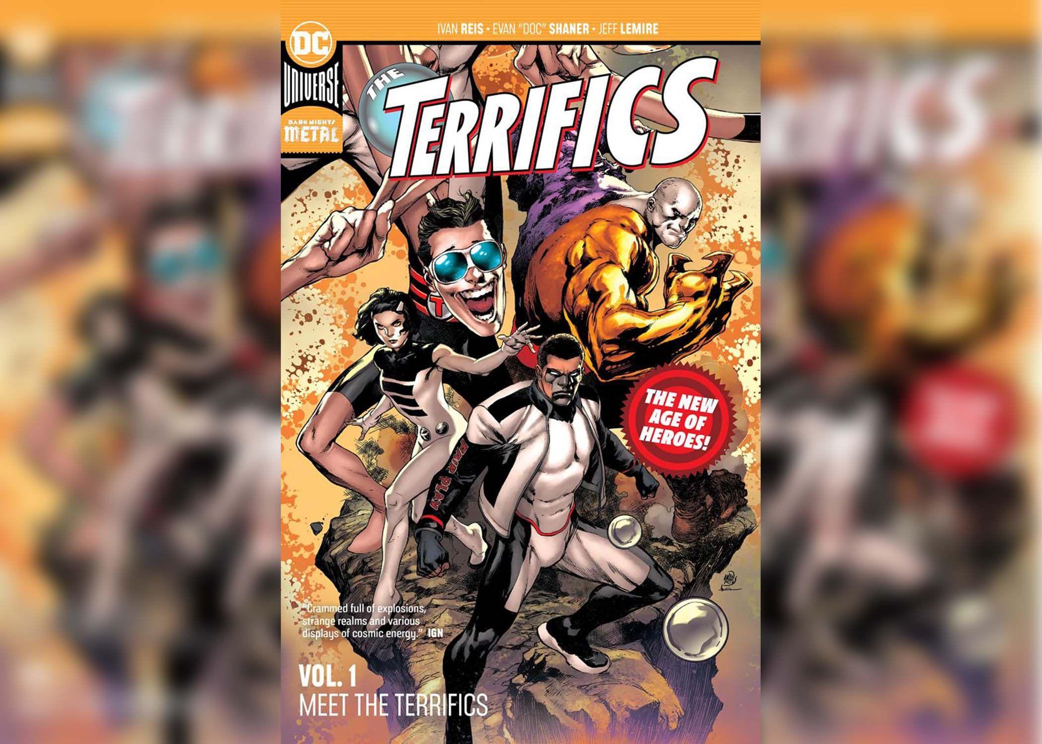 The Terrifics- Meet the Terrifics 1