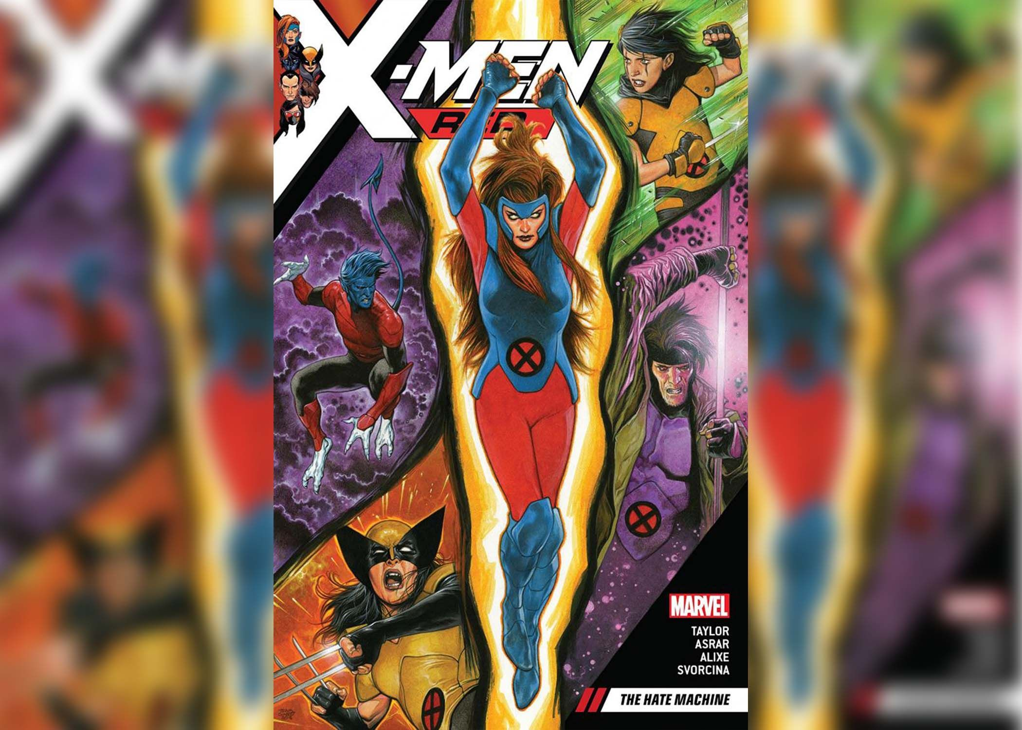 X-Men Red- The Hate Machine 1