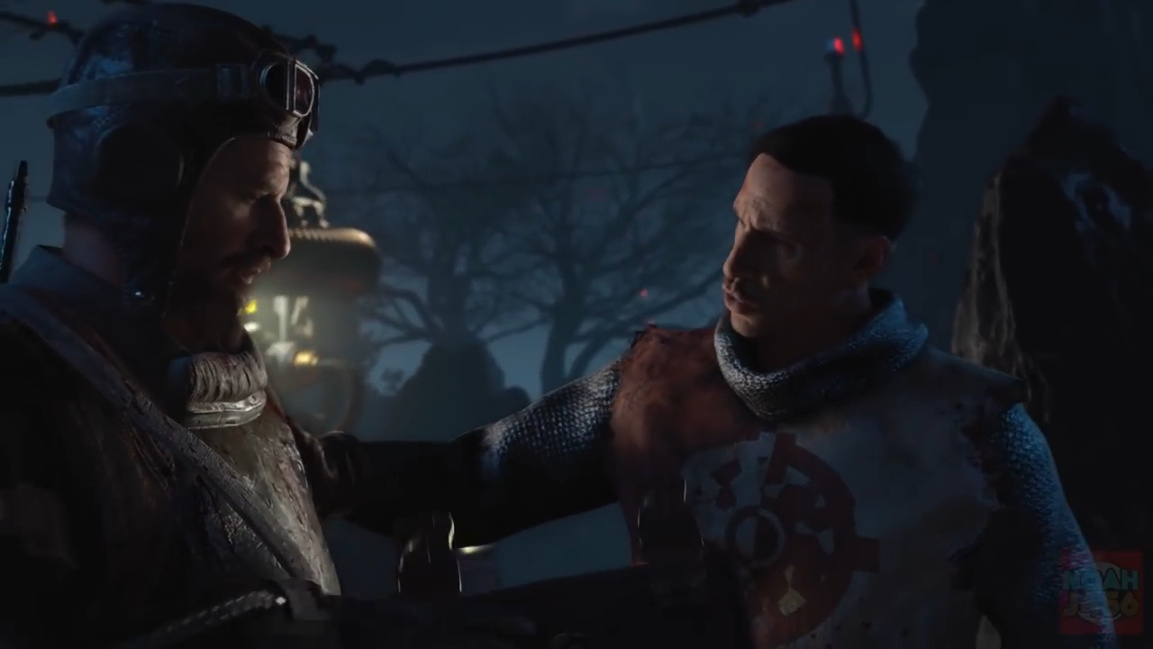 Blood of the Dead Richtofen and Nickolai