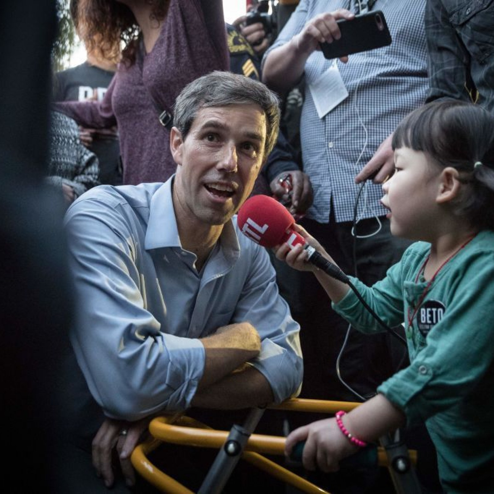 Beto O'Rourke Ignores Trump's Attacks to 'Stay Focused on