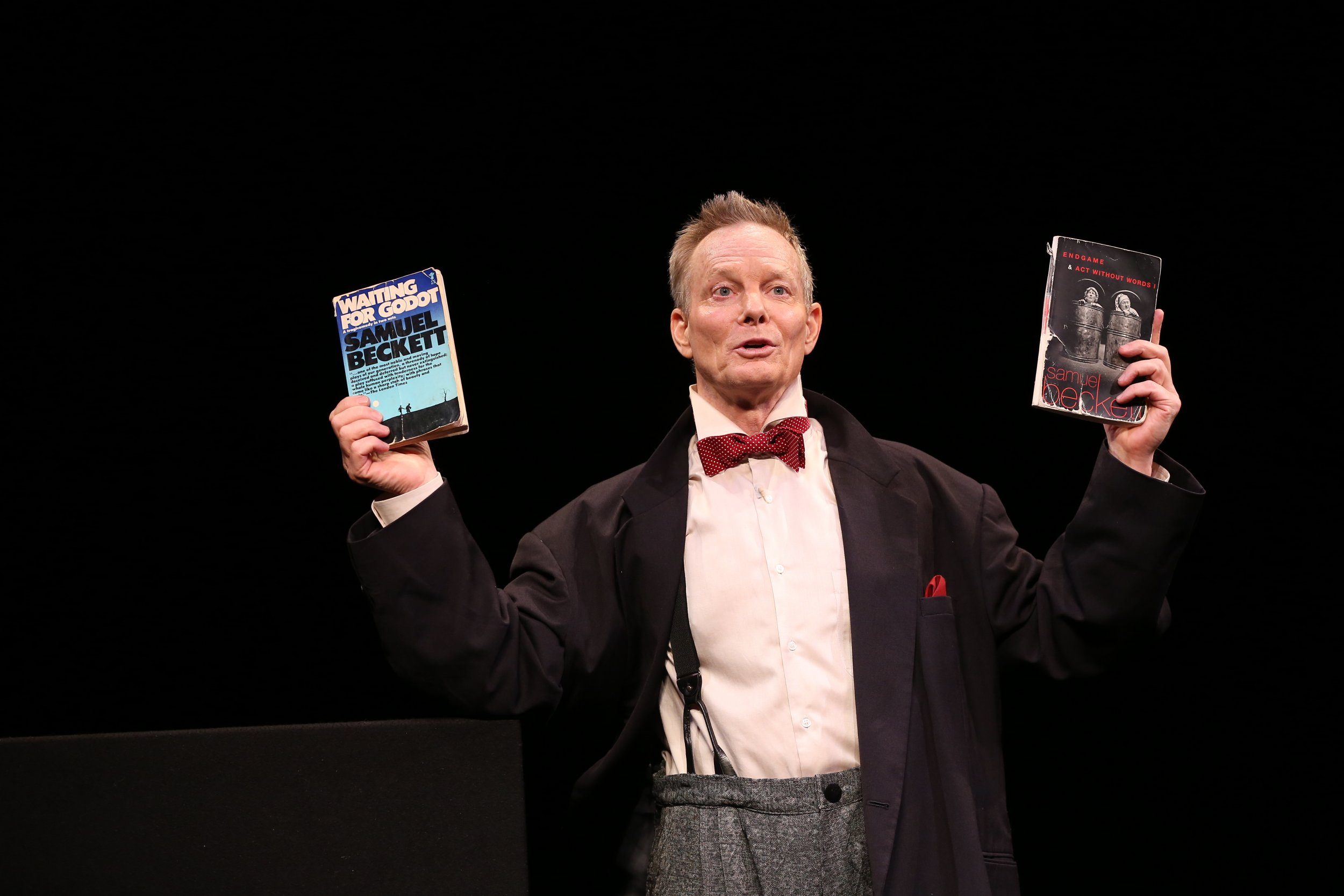 Bill Irwin in ON BECKETT at Irish Rep, photo by Carol Rosegg (6)