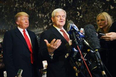 Gingrich, Trump