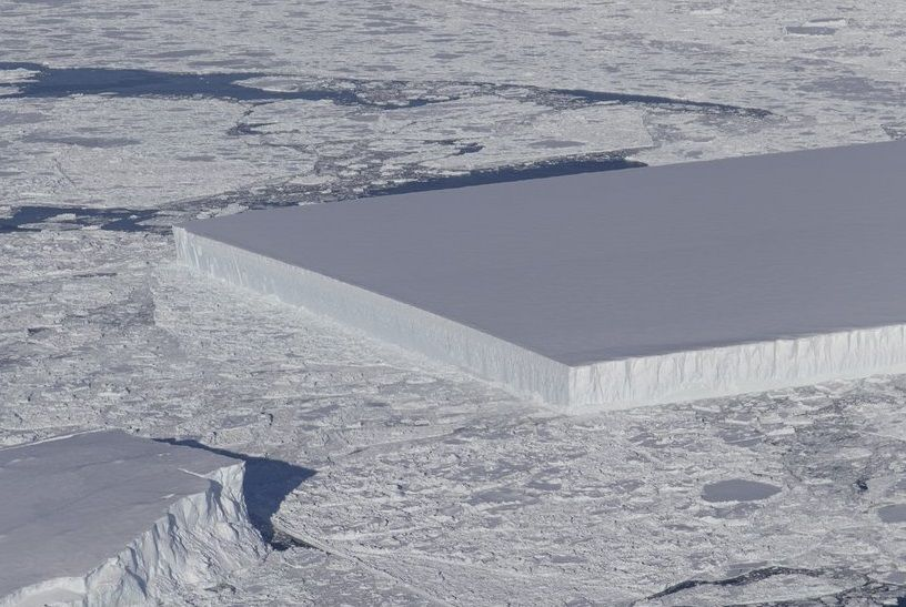 rectangle iceberg