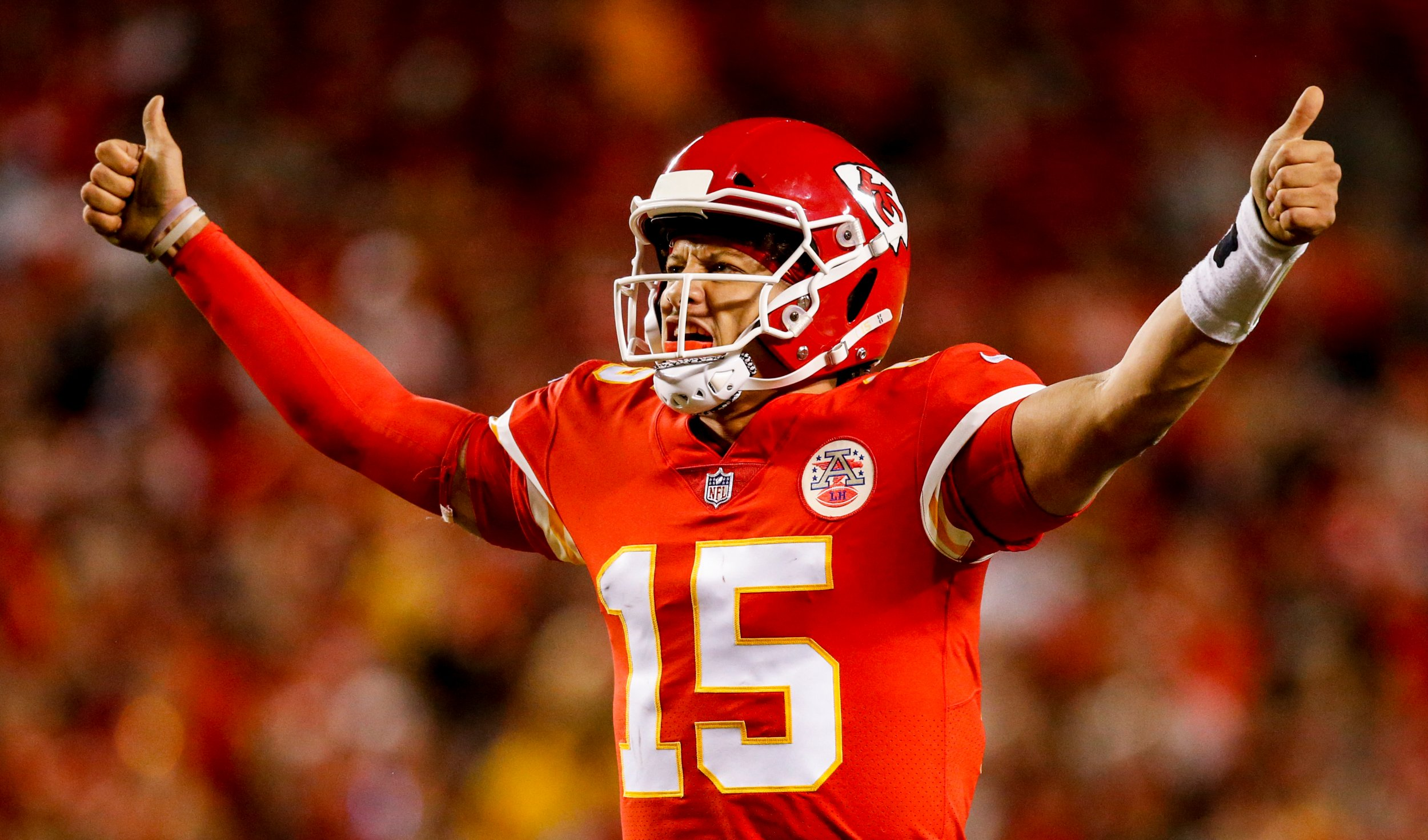 Patrick Mahomes Breaks Another Nfl Record As Chiefs Thrash