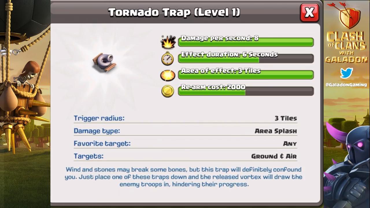 Clash of Clans' October Update Adds War League & Tornado