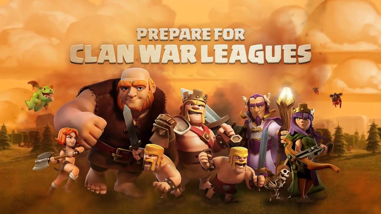 Clash of Clans War League logo