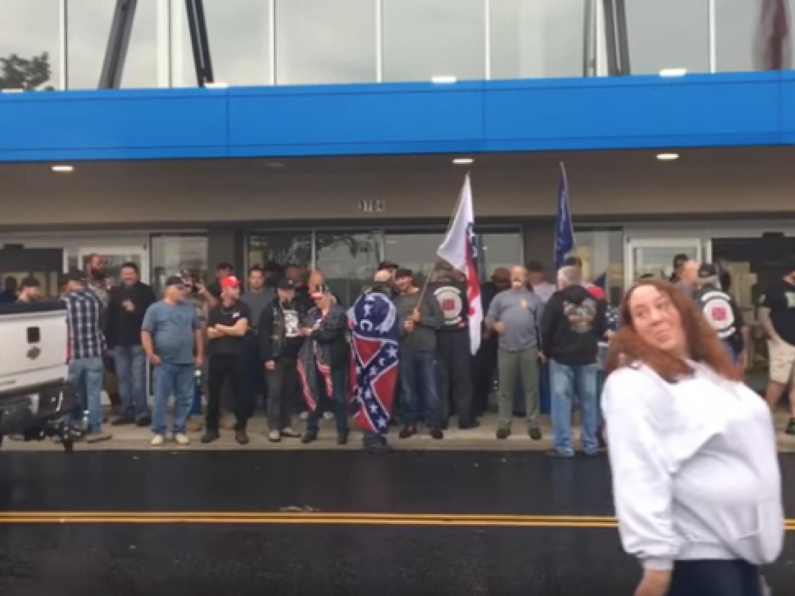 Fake Antifa Facebook Event Lures Dozens of Trump
