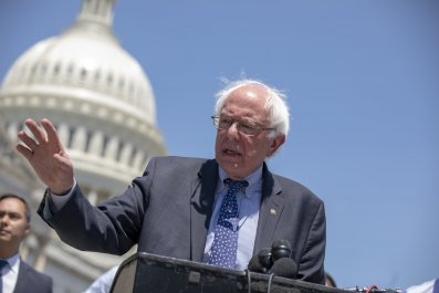 Bernie Sanders Doesn't Buy There's a Blue Wave Coming for Democrats