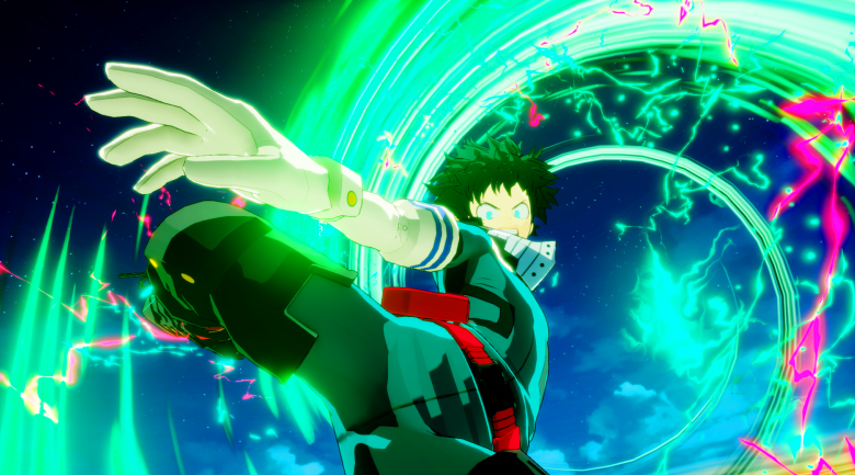 deku shoot style my hero ones justice