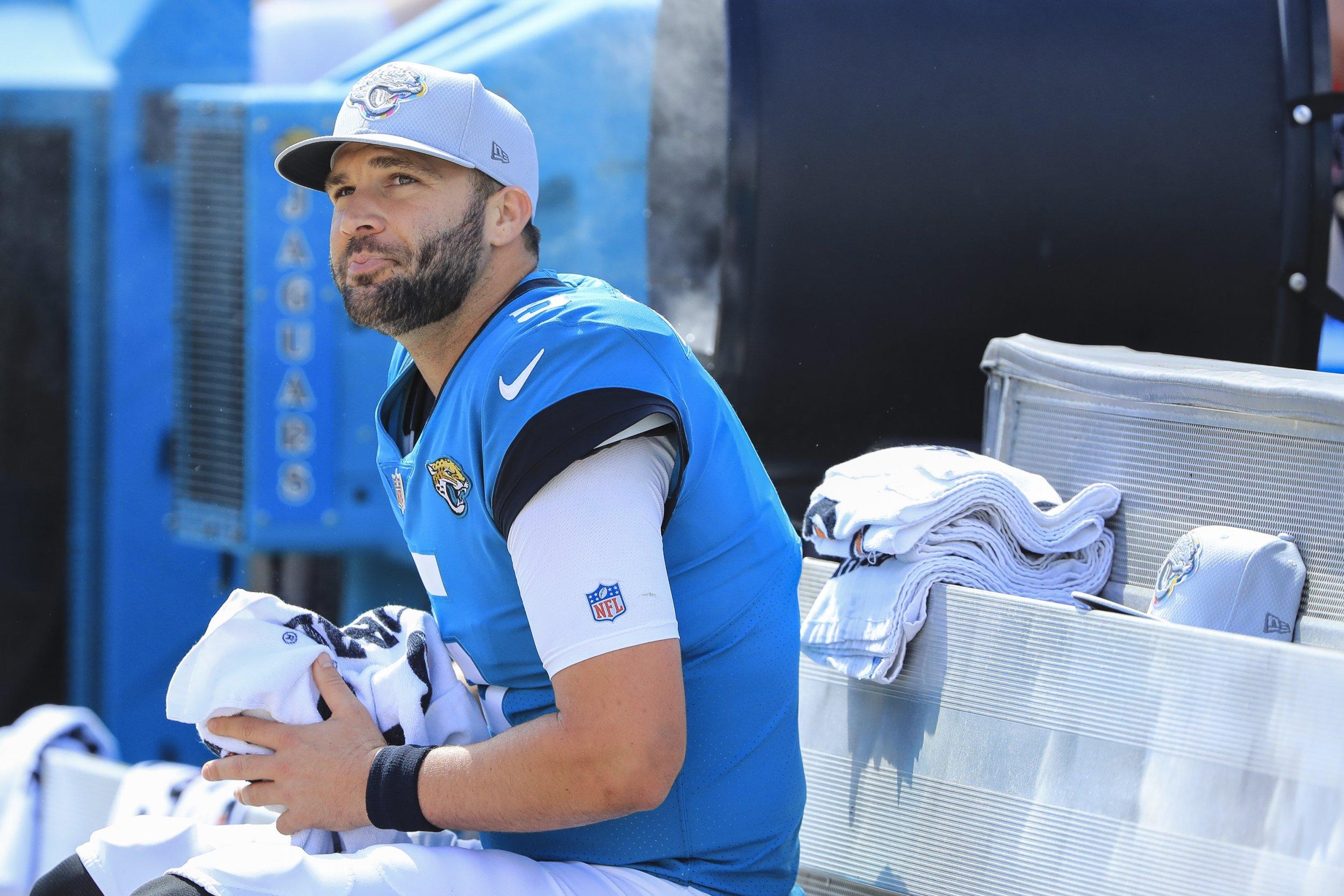 Jacksonville Jaguars quarterback Blake Bortles