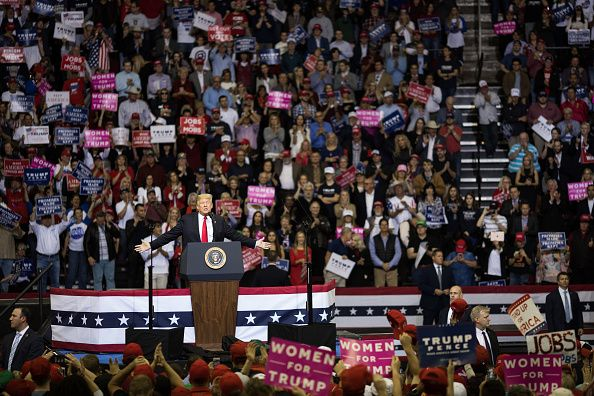 Trump rally size Texas