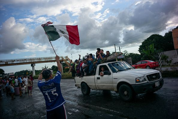 migrant caravan mexico