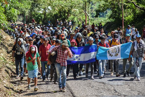 donald trump jr., migrant caravan, guatemala