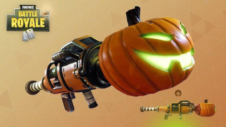Fortnite Pumpkin launcher