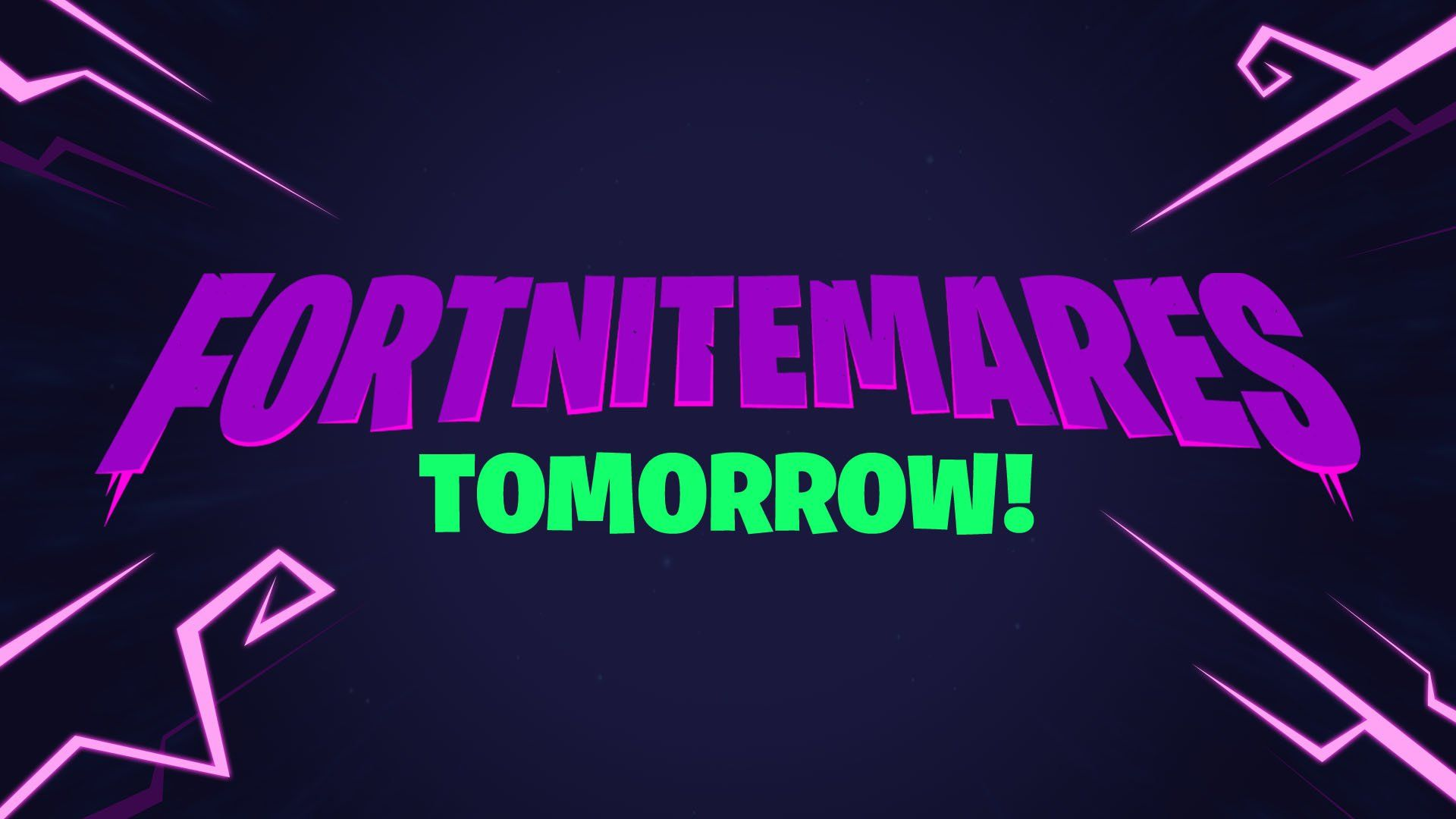 Fortnitemares tomorrow logo